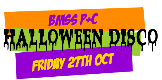 Halloween Disco - Friday 27th October