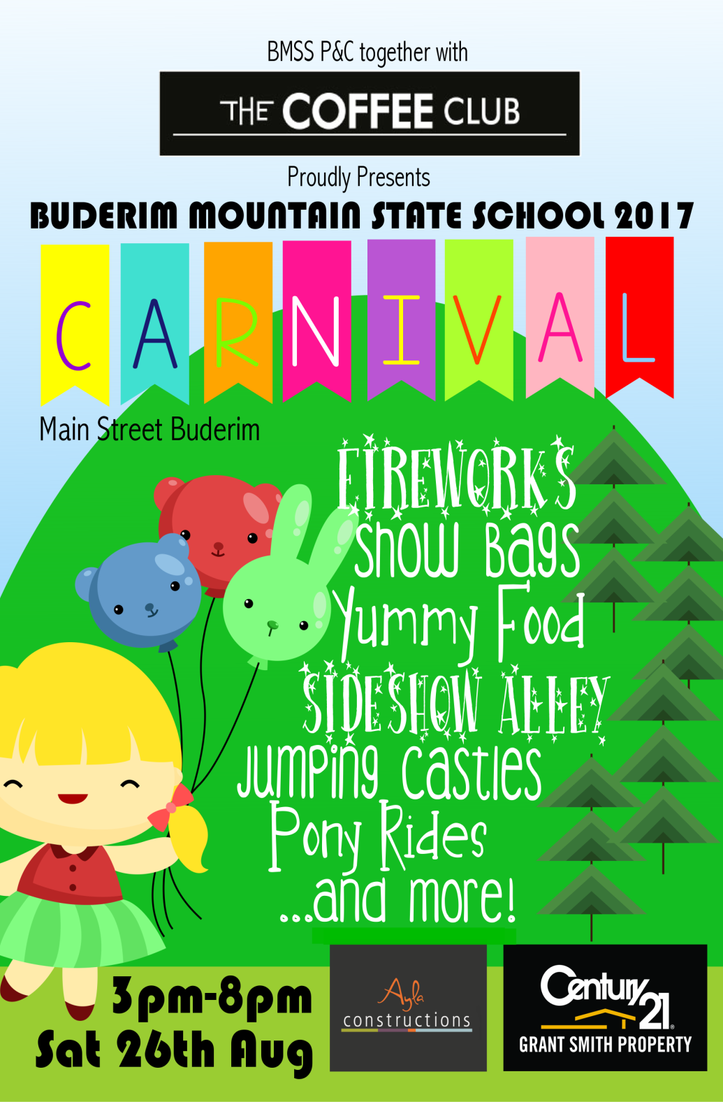 Buderim Mountain School Carnival - Saturday 26th August